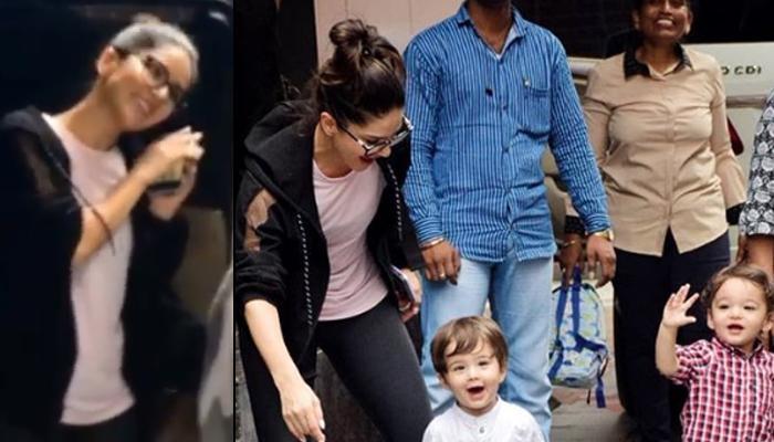 Sunny Leone Playing With Her Kids, Asher And Noah Outside Their Playschool Is Too Adorable To Miss