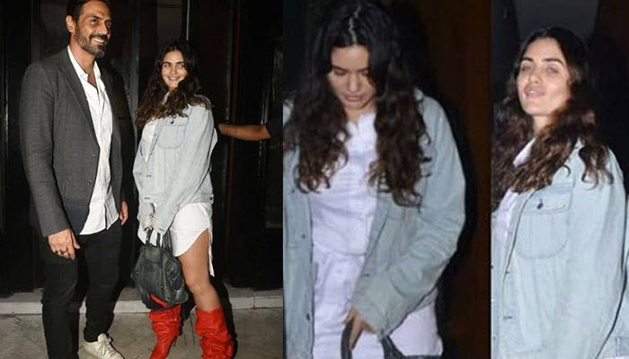 Arjun Rampal And Gabriella Demetriades Look Super-Happy Together As They Enjoy Their Dinner Date