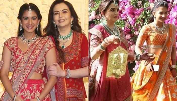 Radhika Merchant Bonds With Future Mother-In-Law, Nita Ambani At Ganesh Chaturthi 2019 Celebrations