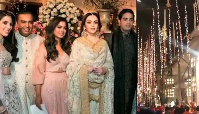 Antilia Gets Decked Up As Newly-Weds Akash Ambani And Shloka Mehta Are All Set To Bring Ganpati Home