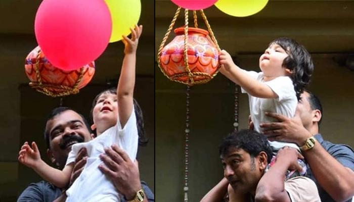 Unseen Video Of Taimur Ali Khan Saying 'I Want To Hold That In My Hand' At Dahi Handi Celebrations