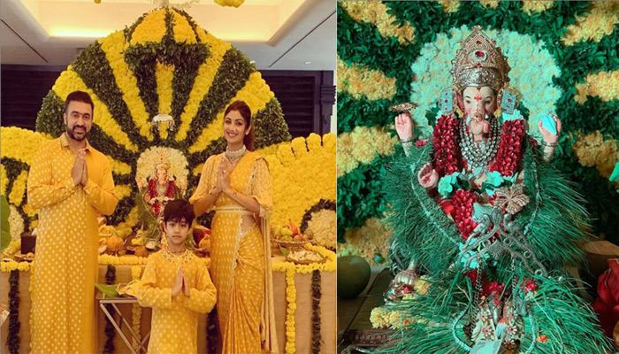 Raj Kundra Shares His Radha, Shilpa Shetty Kundra's Dance Moves With Him On Ganesh Chaturthi