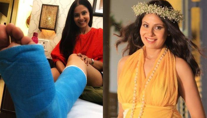 Chhavi Mittal Didn't Know She Had A Fractured Foot During Last Days Of Pregnancy, Shares After-Story