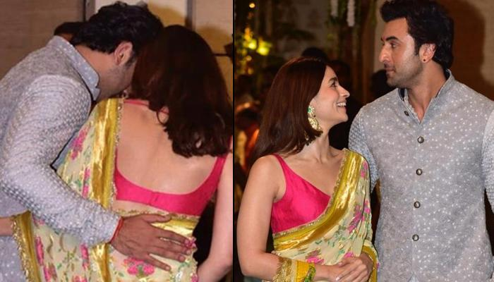 Alia Bhatt And Ranbir Kapoor's Unmissable Chemistry At The Ganesh Chaturthi Celebrations In Antilia