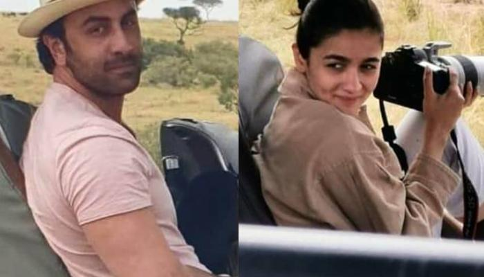 Alia Bhatt And Ranbir Kapoor Share Some Quality Time Together As They Go On A Jungle Safari