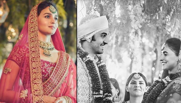 Alia Bhatt And Ranbir Kapoor's Varmala Ritual Wedding Photo Gets Viral On Internet, Here's The Truth