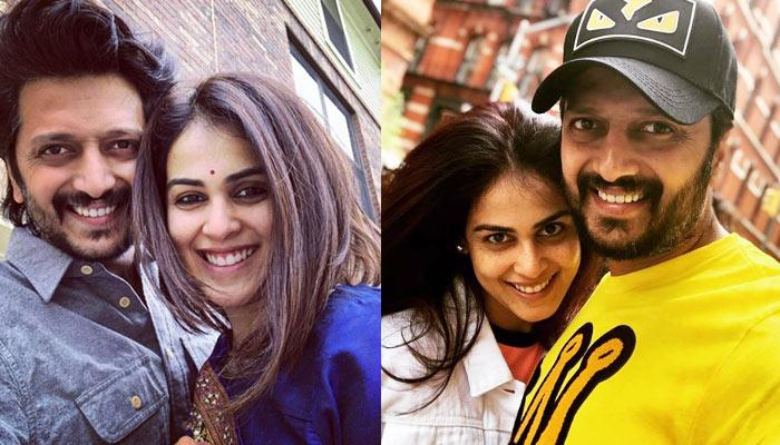 Riteish Deshmukh Asks For 'Chumma' From Genelia In San Francisco, Her Reaction Is Epic [VIDEO]