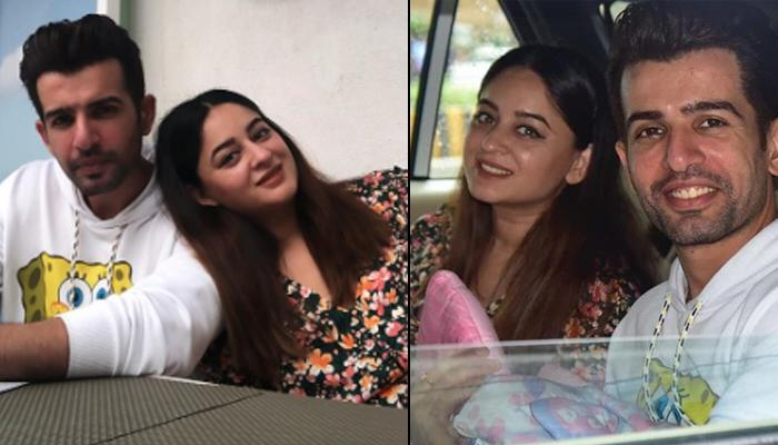 Mahhi Vij And Jay Bhanushali Finally Take Their Newborn Angel Home, Pose For A Happy Family Picture