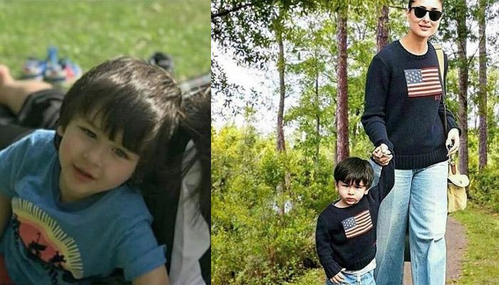 Kareena Kapoor Khan Twinning With Her Son, Taimur Ali Khan Is Mother-Son Goals