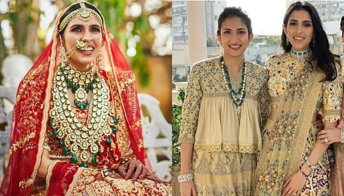 Shloka Mehta Twins With Her Sister In These Unseen Pictures From Her Wedding Ceremonies