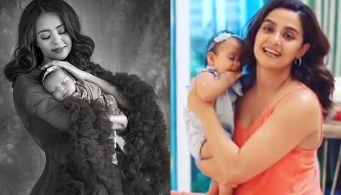 Surveen Chawla's Five Month Old Baby Girl, Eva Makes Her Television Debut, Video Inside