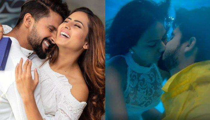 Sargun Mehta Had To Convince Hubby, Ravi Dubey For A Steaming On-Screen Liplock With Nia Sharma