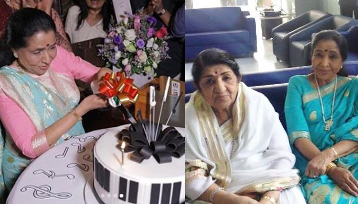 Lata Mangeshkar Has The Most Emotional Message For Sister, Asha Bhosle On Her 86th Birthday