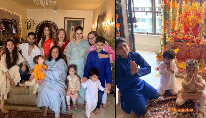 Taimur Ali Khan Chanting 'Mangal Moorti Morya' At His Nani's Place Is Winning Hearts, Video Inside