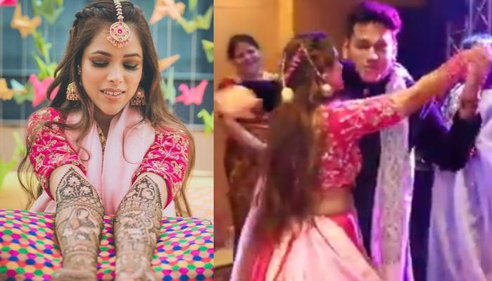 This Bride's Brother Made Her Dance On 'Tera Yaar Hoon Main', Proves Siblings Are Your Best Friends