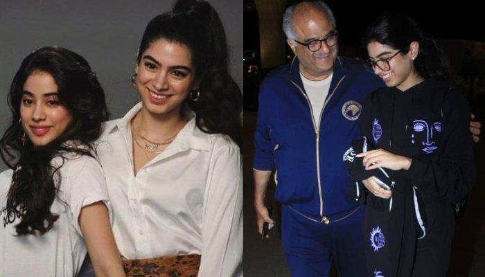 Boney Kapoor Seeing Off Khushi Kapoor At Airport As She Moves Abroad For 2 Years Is Every Dad Ever