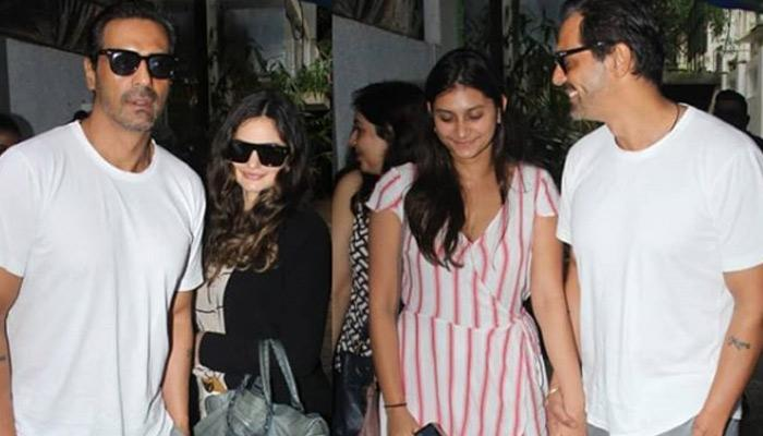 Arjun Rampal's GF, Gabriella Bonds With His Elder Daughter, Mahikaa Over Lunch Outing, Pics Inside