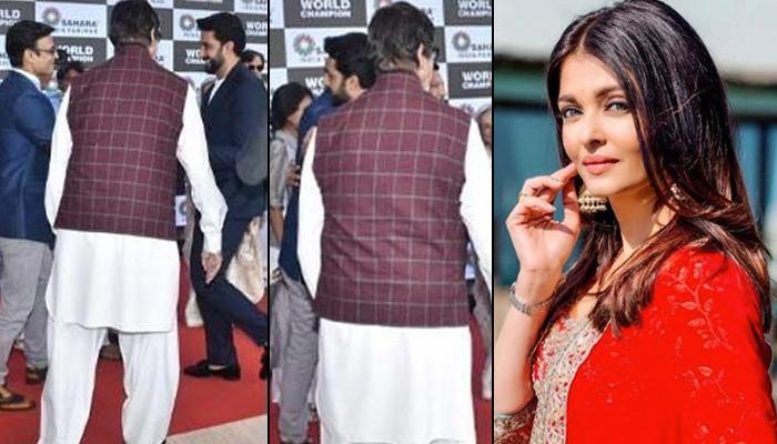 Aishwarya Rai Bachchan Is Apparently Upset With Abhishek Bachchan For Hugging Her Ex, Vivek Oberoi