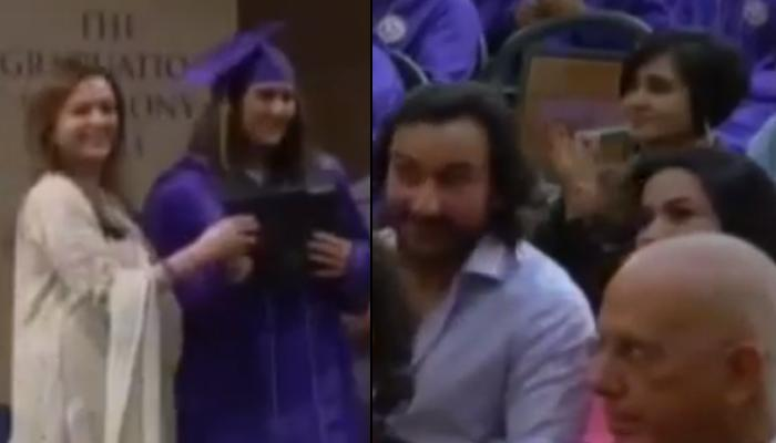 Saif Ali Khan And Amrita Singh Cheering For Sara Ali Khan On Her Graduation Day Is Every Parent Ever