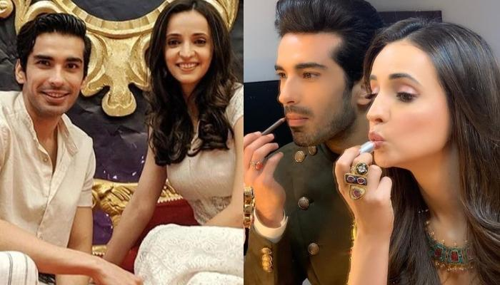 Sanaya Irani Proves That Couple Who Does Makeup Together Stays Together In Her Latest Picture