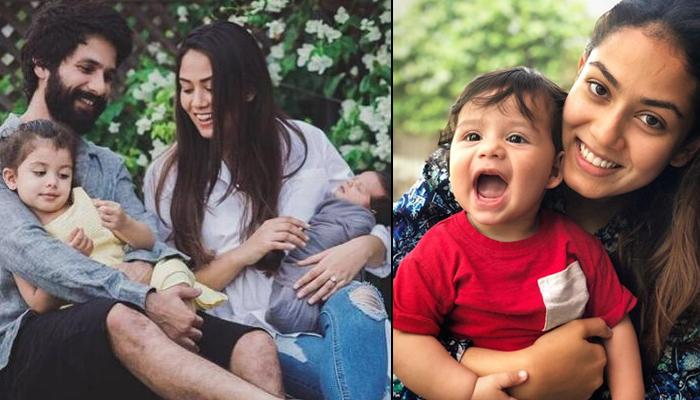Unseen Picture Of Mira Rajput Kapoor And Zain Kapoor From Family Photoshoot, She Is In Awe Of Him