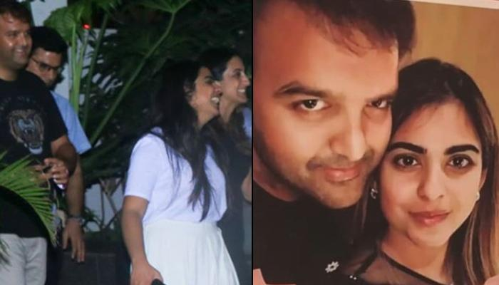 Isha Ambani Piramal And Anand Piramal Ace Their Casual Look At Wiz Khalifa's Concert In Mumbai