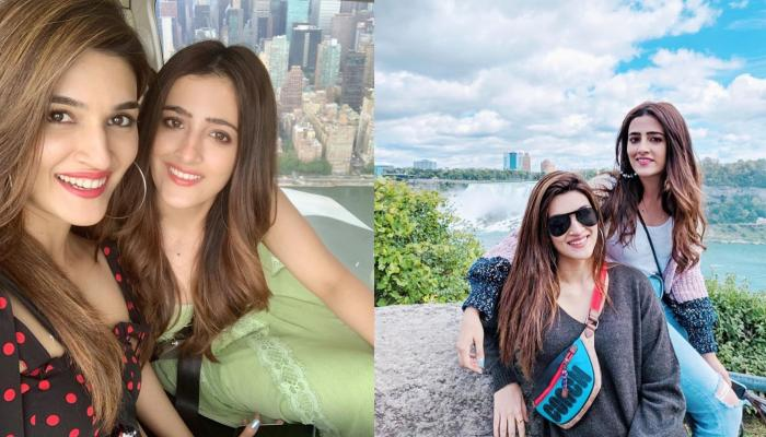 Kriti Sanon And Nupur Sanon Enjoy Their First-Ever 'Sisterly Vacation', Actress Shares Lovely Pics