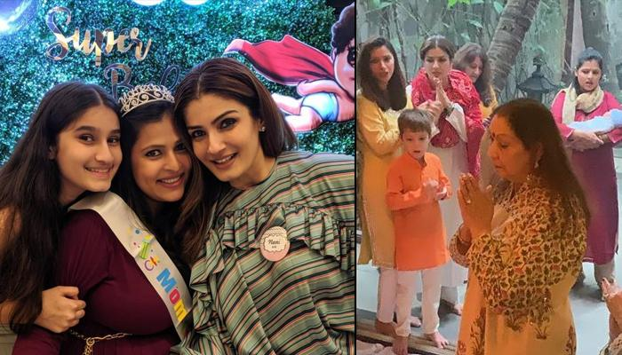 Raveena Tandon Becomes Nani, Announces The News With The Pictures Of Baby's Homecoming Ceremony