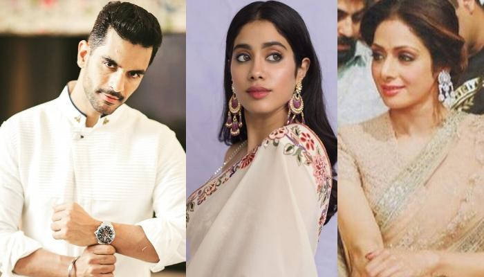 Angad Bedi Talks About Co-Star, Janhvi Kapoor And How She Has A Glimpse Of Sridevi In Her Eyes