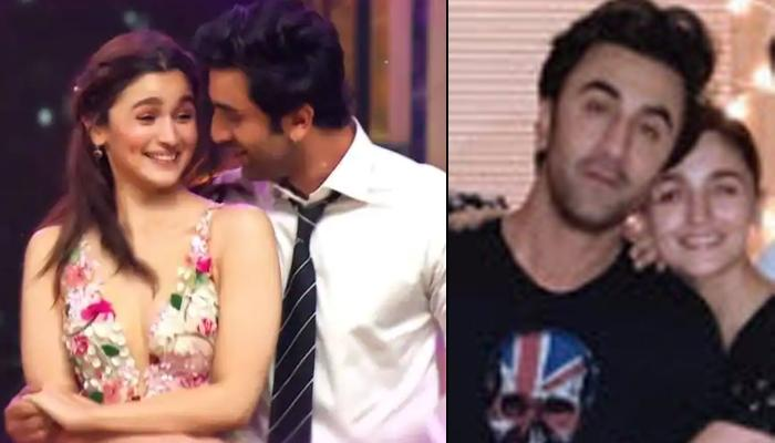 Alia Bhatt's 'Never Let You Go' Hug To Ranbir Kapoor Is A Sight To Behold, Lovebirds Twin In Black