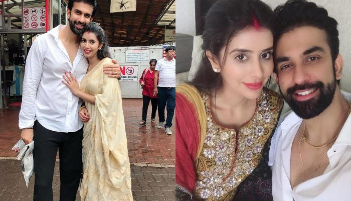 Charu Asopa And Rajeev Sen Visit Siddivinayak Temple For The First Time After Wedding (Pictures)