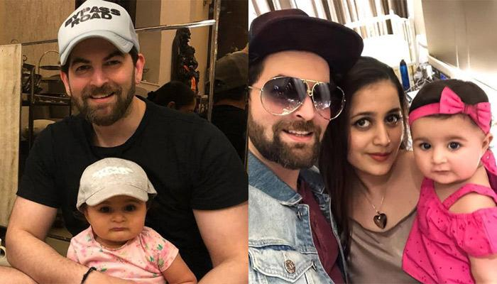Neil Nitin Mukesh Wishes Little Angel Nurvi On Her First Birthday With An Adorable Picture