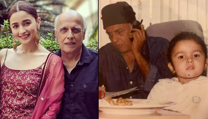Alia Bhatt Wishes Her 'Pops' Mahesh Bhatt On His 71st Birthday With An Unseen BTS Glimpse Of Sadak 2