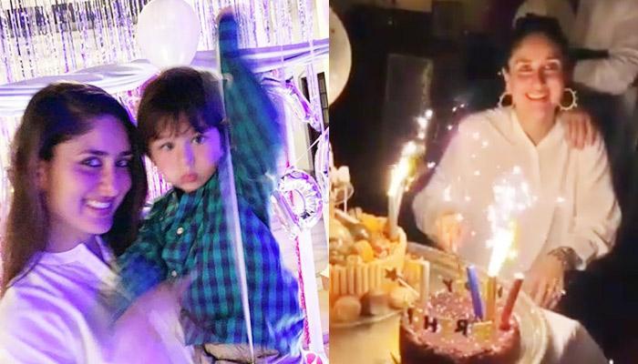 Kareena Kapoor And Saif Ali Khan Seal It With A Kiss On Her Birthday Bash, Check Pics And Video