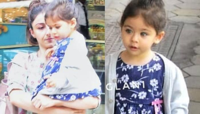 Inaaya Naumi Kemmu Looks Adorable As She Steps Out With Mommy, Soha Ali Khan And Daddy, Kunal Kemmu