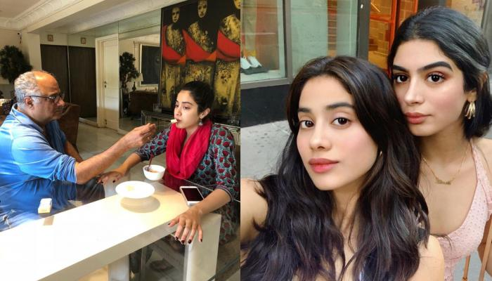 Janhvi Kapoor Finally Spends Some Quality Time With Sister, Khushi And Father, Boney In New York