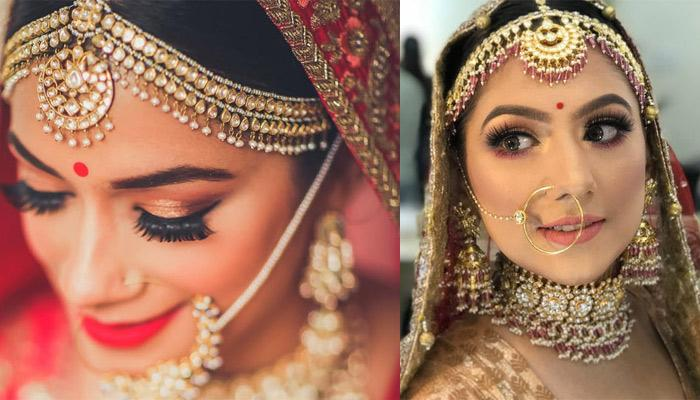 Breathtaking Matha Patti Designs Spotted On Real Brides Which Are Perfect For Wedding Season