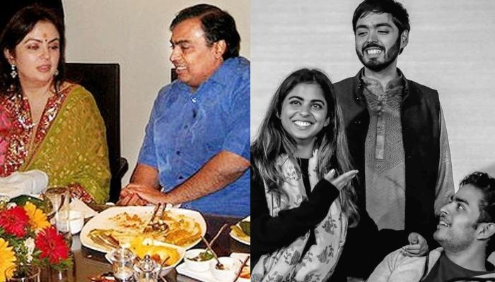 Unseen Vacation Picture Of Nita And Mukesh Ambani With Akash, Isha And Anant, Twinning In Black Tees