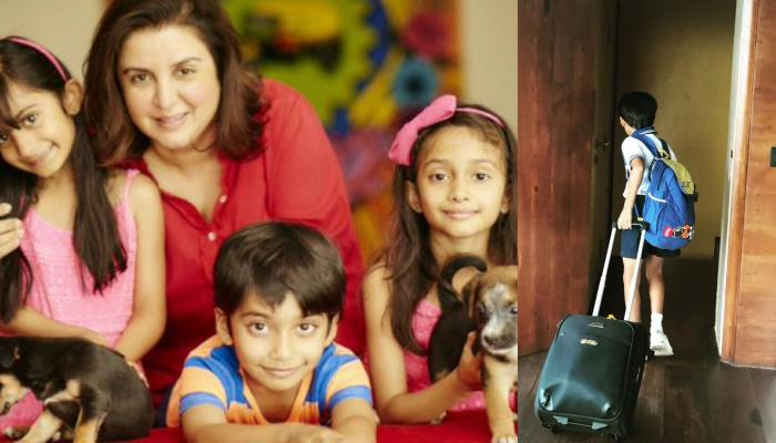 Farah Khan Kunder Gets Emotional As Her Son, Czar Kunder Leaves For His First Out Of Town Camp