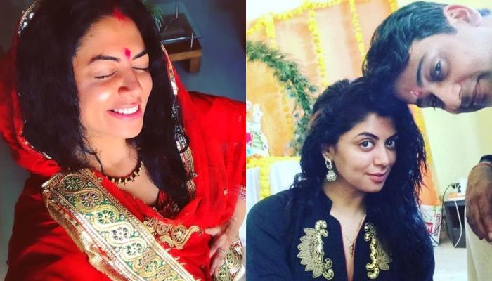 Kavita Kaushik Makes Fun Of Her Loud Makeup In Throwback Pic, Hubby, Ronnit's Reaction Is Hilarious