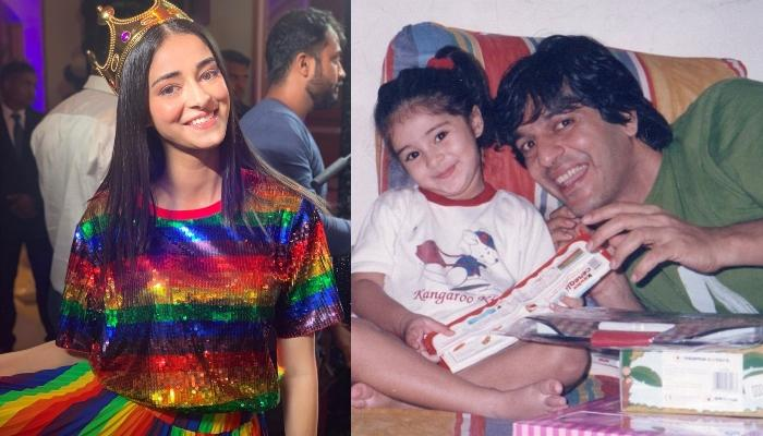 Ananya Panday Shares A Thank You Note For Daddy, Chunky Panday On His Birthday