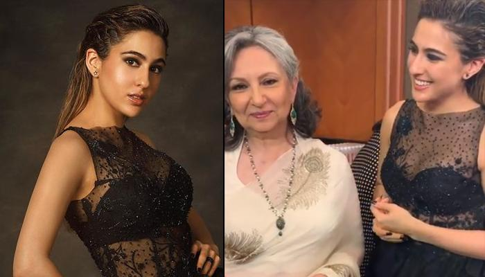 Sara Ali Khan Walks The Red Carpet With 'Badi Amma' Sharmila Tagore And They Were A Vision To Behold