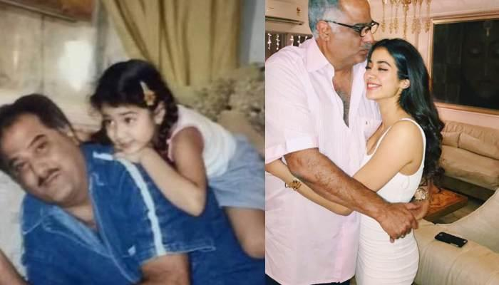 Janhvi Kapoor Shares Pictures With Father Boney Kapoor, Proves That She Is Daddy's Little Girl