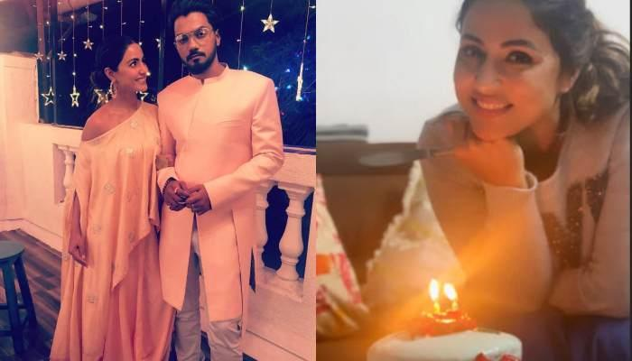 Hina Khan's Pre-Birthday Celebration Begins With A Special Surprise From Her Boyfriend Rocky Jaiswal