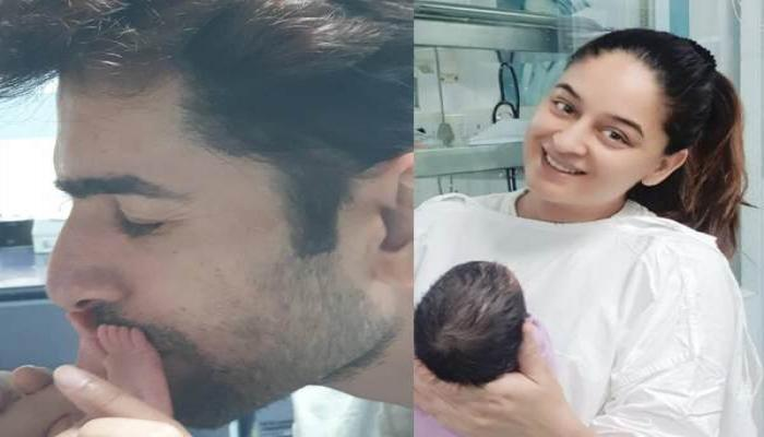 Jay Bhanushali And Mahhi Vij Post A Partial Glimpse Of Daughter, Tara Along With Endearing Messages