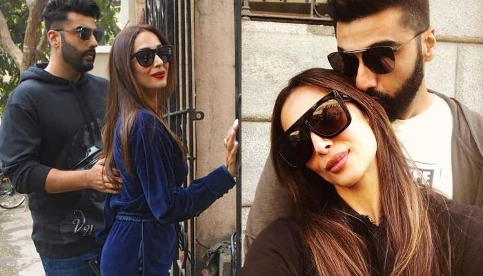 Malaika Arora Shares A Kissing Picture With Arjun Kapoor As She Welcomes 2020