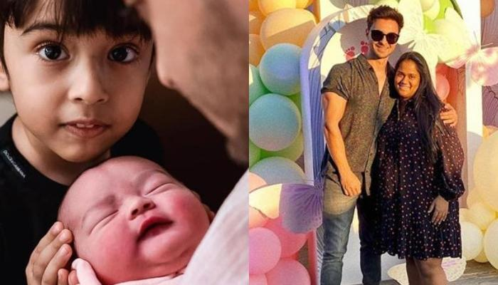 Aayush Sharma Gives A Grand Welcome To Wife, Arpita Khan Sharma And New-Born Daughter, Ayat