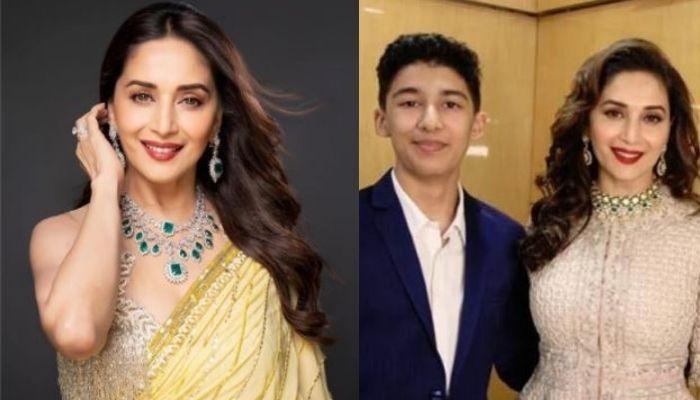 Madhuri Dixit Nene's 'Then And Now' Picture With Elder Son, Arin Nene Proves Her Beauty Is Eternal