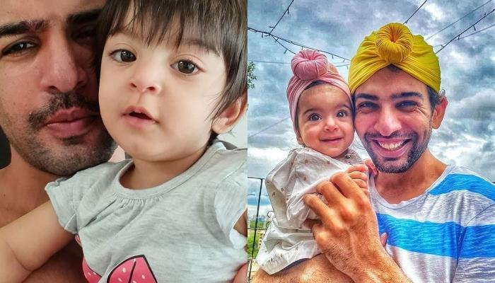 Jay Bhanushali Shares An Adorable Video Of Baby Tara Enjoying A Walk On The Grass, Says She Loves It