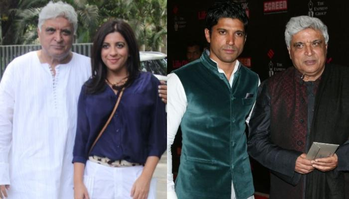 Javed Akhtar Reveals What He Would Say To Zoya And Farhan Akhtar If He Found Them Smoking Marijuana